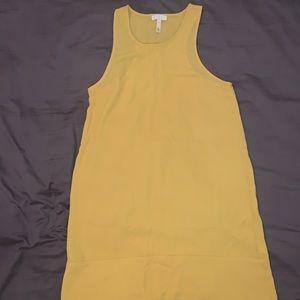 Yellow Leith tank dress